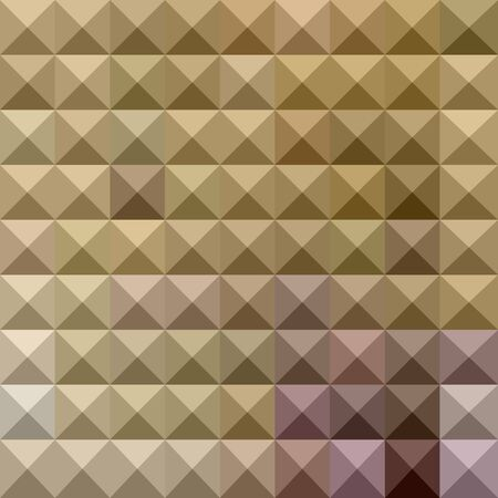 the polyhedron: illustration of a wood brown abstract geometrical background