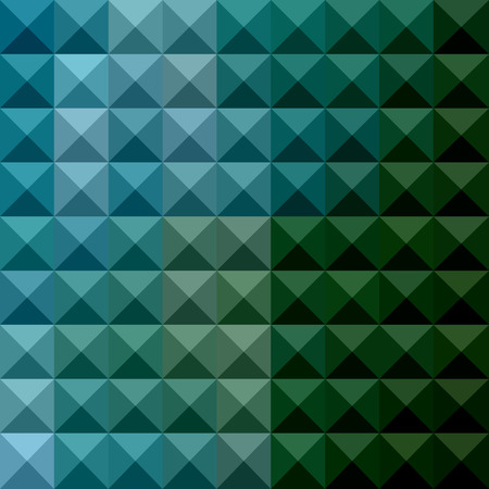 polyhedron: Ilustraci�n de la primavera verde oscuro Fondo geom�trico abstracto