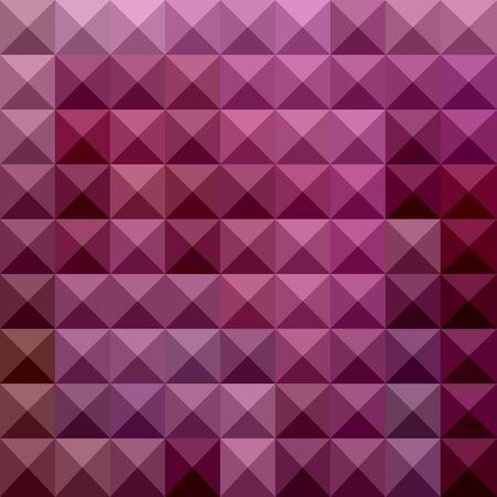 polyhedron: Illustration of a byzantium purple abstract geometrical background