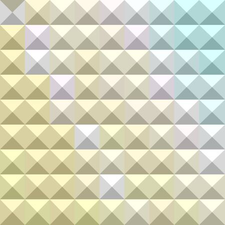 the polyhedron: Illustration of light khaki yellow abstract geometrical background Illustration