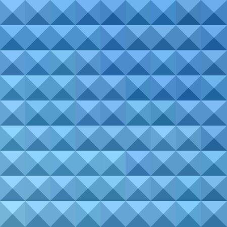 polyhedron: Ilustraci�n de un fondo geom�trico abstracto azul aciano Vectores