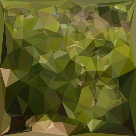 polyhedron: Ilustraci�n de un fondo abstracto geom�trico verde oliva