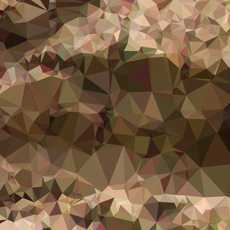 copper: Low polygon style illustration of copper brown abstract geometric background. Illustration