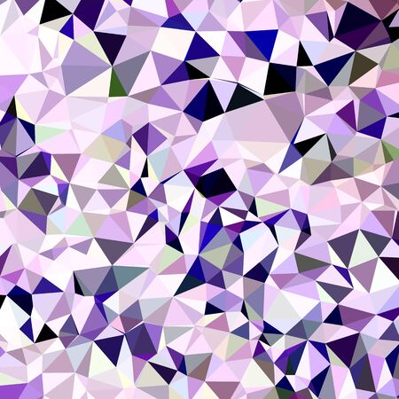 polyhedron: Low polygon style illustration of a blue violet abstract geometric background.
