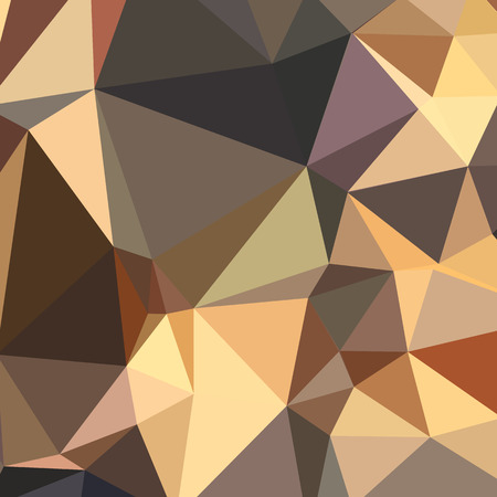bole: Low polygon style illustration of a bole brown abstract geometric background.