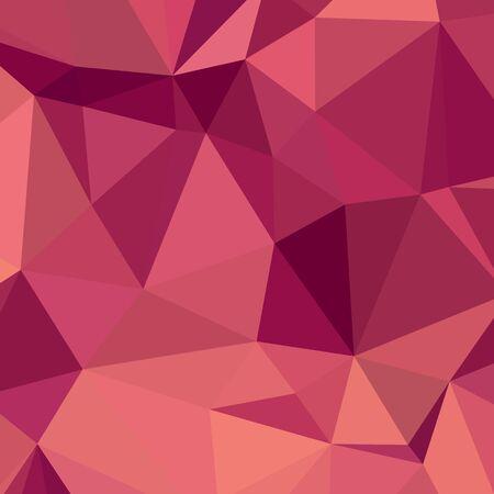 fondos violeta: Ilustración de estilo poligonal baja de cereza de color morado oscuro Fondo geométrico abstracto.