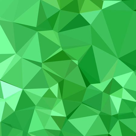 inchworm: Low polygon style illustration of inchworm green abstract geometric background.