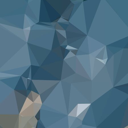 cerulean: Low polygon style illustration of a cerulean frost blue abstract geometric background.