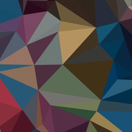 Lage veelhoek stijl illustratie van een blauwe saffier abstract geometrische achtergrond. Stockfoto