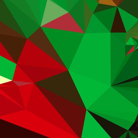 dark pastel green: Low polygon style illustration of a dark pastel green abstract geometric background.