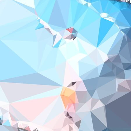 superiority: Low polygon style illustration of air superiority blue abstract geometric background.
