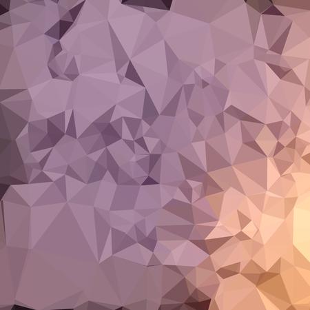 amethyst: Low polygon style illustration of amethyst blue orange abstract geometric background. Illustration