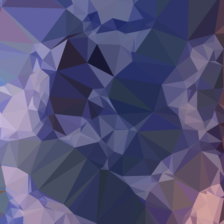 bluebonnet: Low polygon style illustration of a bluebonnet blue orange abstract geometric background.