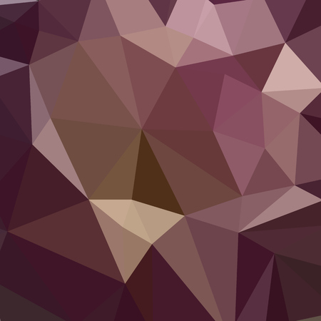 tuscan: Low polygon style illustration of a deep tuscan red purple abstract geometric background. Illustration