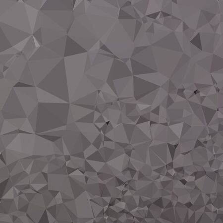 polyhedron: Low polygon style illustration of a trolley grey abstract geometric background.
