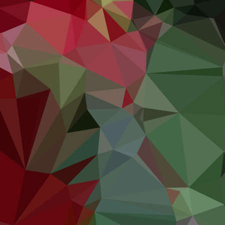 carmine: Low polygon style illustration of a deep carmine pink abstract geometric background. Illustration