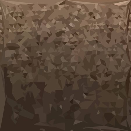 camo: Low polygon style illustration of an antique brass camo abstract geometric background.