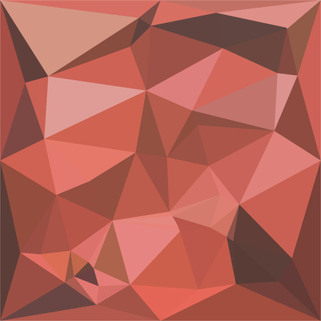 deep pink: Low polygon style illustration of a deep pink abstract geometric background.