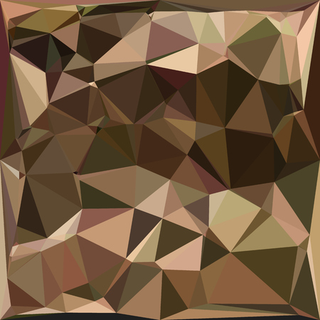 sienna: Low polygon style illustration of a sienna abstract geometric background.
