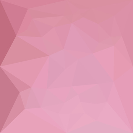 rosy: Low polygon style illustration of a rosy brown abstract geometric background. Illustration