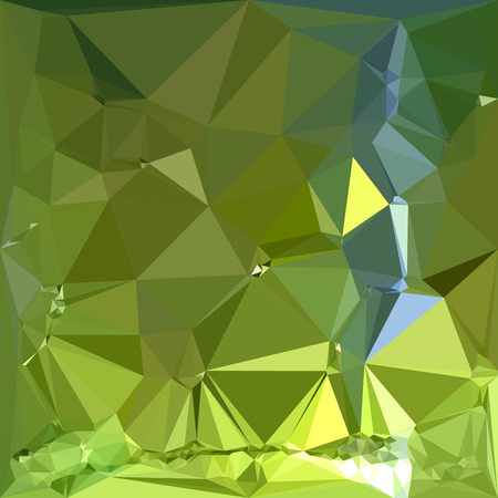 chartreuse: Low polygon style illustration of a chartreuse green abstract geometric background.