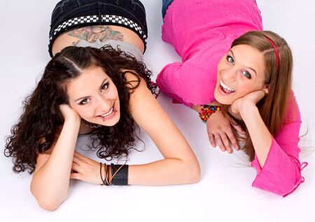bimbo: two different teenage-girls