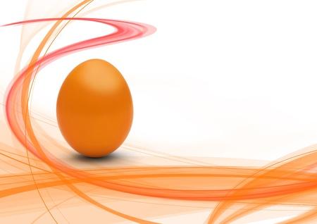 easteregg: easter egg with modern design