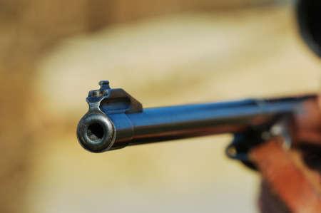 arms trade: Barrel of a gun