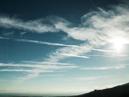 Beautiful american cloudscape