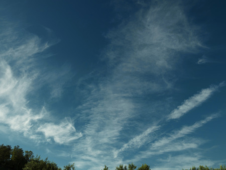 Mooie Amerikaanse cloudscape