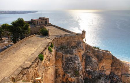 barbara: Castillo de Santa Barbara, Alicante, Spain