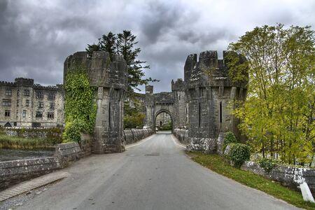 downcast: Welcome to Ashford Castle, Ireland