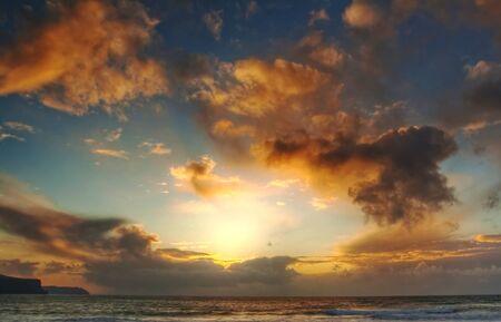 atlantic: Atlantic sunset