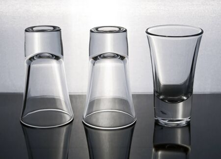 shot: Empty shot glasses