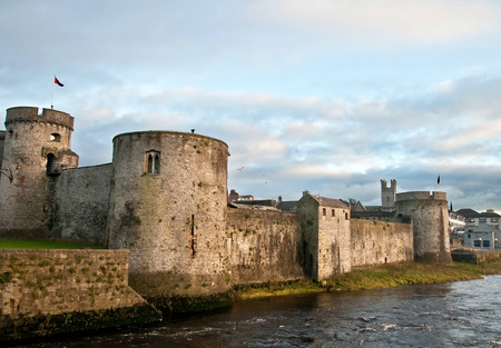 King John castle in Limerick Editorial