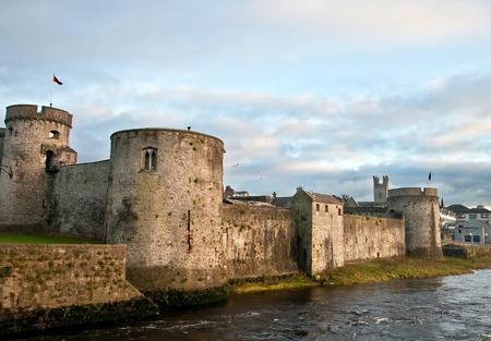 irish history: King John castle in Limerick Editorial