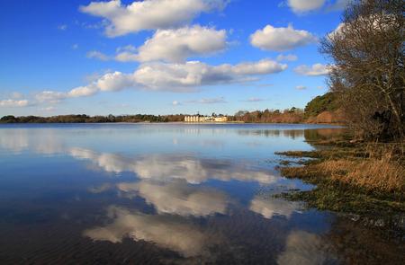 Reflection in Irish lake