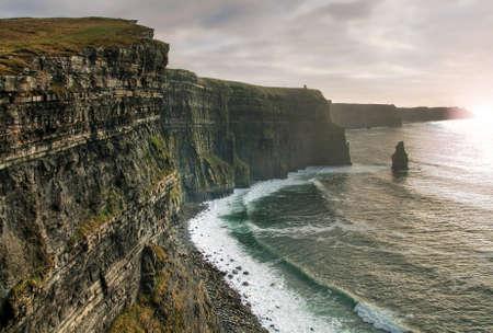 moher: Cliffs of Moher in Ireland