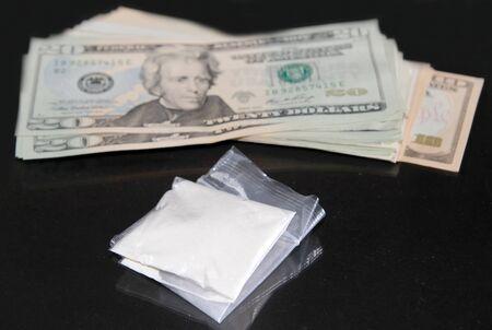 doses: Cocaine deal concept