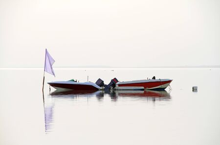 red sea: Boats on the Red Sea