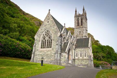 church architecture: Gothic church in Connemara mountains