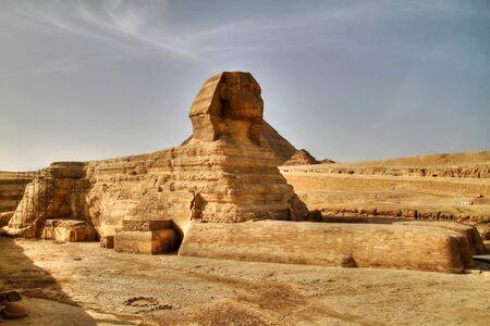 esfinge: Esfinge en Giza