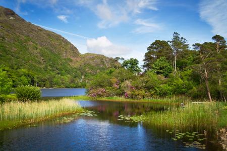 connemara: Connemara lake and mountains in Ireland