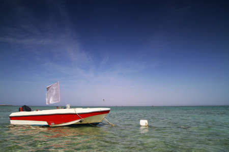 motorboat: Motorboat in the Red Sea