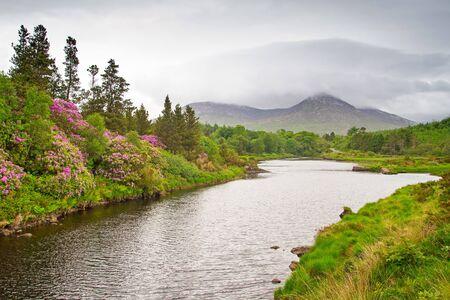 connemara: Scenery of Connemara mountains,Ireland