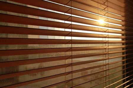blinds: Sunlight behind vertical blinds