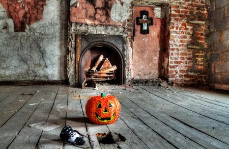 attic: Creepy attic