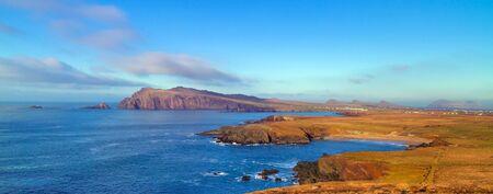dingle: Coastline of Dingle Peninsula in Ireland Stock Photo