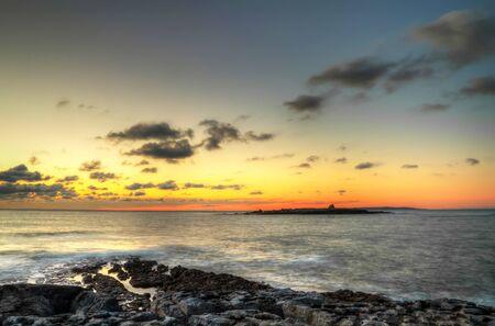 doolin: Sunset over Crab Island in Ireland