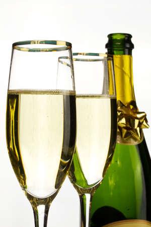 celebration: Champagne celebration